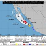 California puede recibir su primer huracán