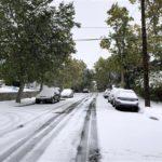 Tormenta de nieve en Montana