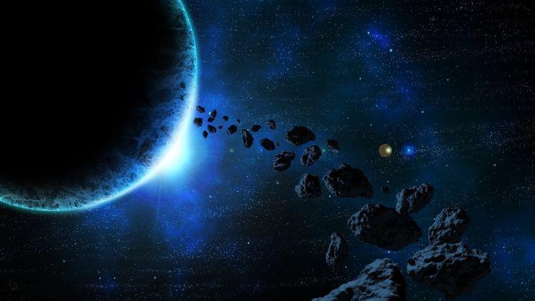 Asteroides en el cielo últimamente