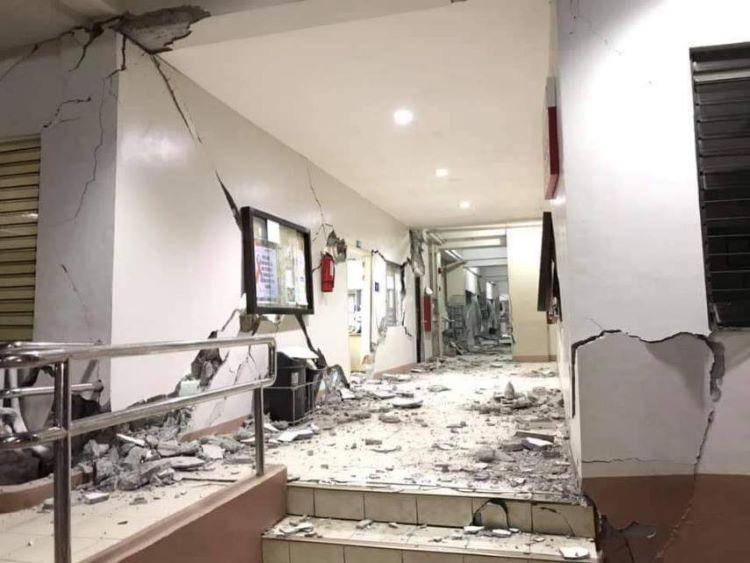 terremoto de 6,4 grados en Mindanao (Filipinas)
