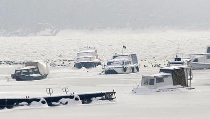 El Danubio congelado