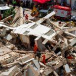 Un edificio residencial de siete plantas se derrumba en la ciudad de Fortaleza (Brasil)