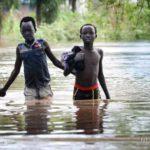 Inundaciones sin precedentes han provocado unos 200.000 desplazados en el sur de Sudán