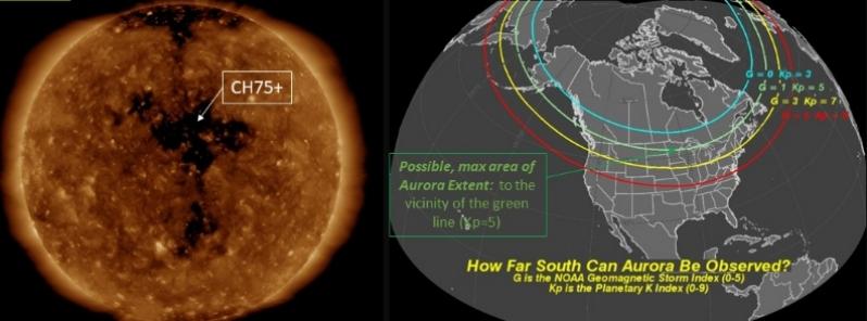 Alerta por tormenta geomagnética de tipo G-1 el 24 y 25 de octubre