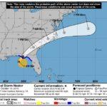"""Florida Panhandle se prepara para la llegada de la tormenta tropical """"Nestor"""" (Estados Unidos)"""