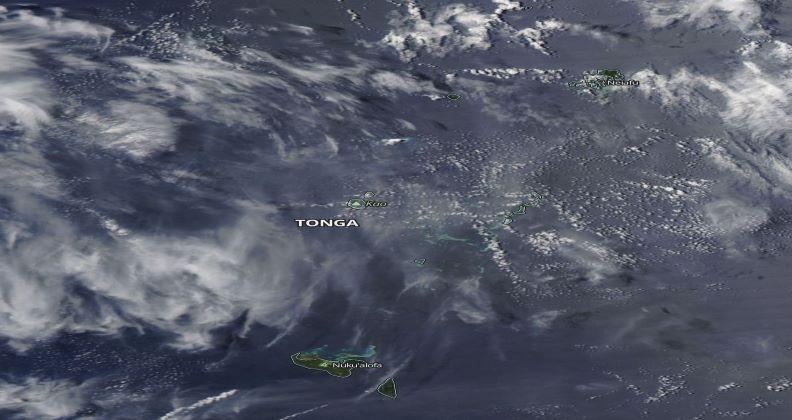 Erupción del volcán Shoal. Aumenta nivel de alerta al naranja (Tonga)