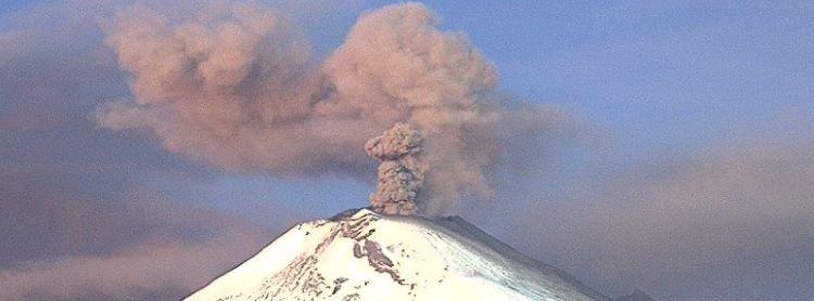 permanecer alejados del volcán Popocatépetl 3-octubre-2019