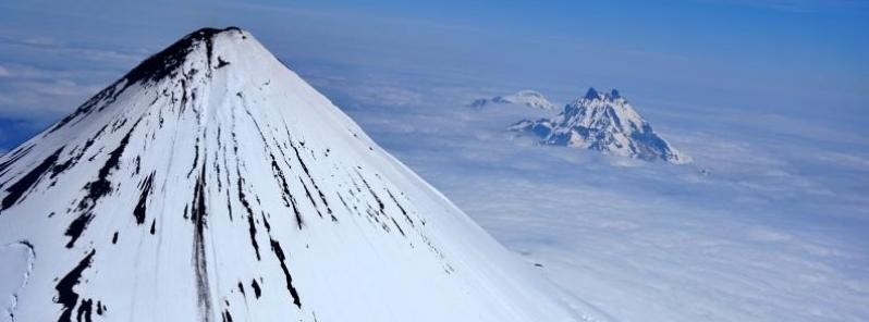 Código de alerta naranja para la aviación por la actividad del volcán Shishaldin (Alaska)