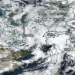 La tormenta Amelie ha azotado Francia, España e Italia.