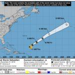 La tormenta tropical Sebastien podría dirigirse a la Azores y al oeste de Europa
