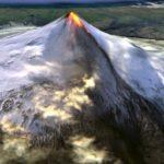Aumenta la actividad en el volcán Shishaldin (Alaska)