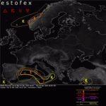 Alerta de nivel 1 en Noruega, Baleares, este de España y Túnez