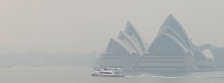 La peor calidad del aire en la historia del estado en Sídney (Australia)