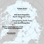 El polo norte magnético se desplaza a una velocidad mucho mayor que antes