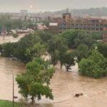 Inundaciones masivas en la ciudad de Pretoria (Sudáfrica)