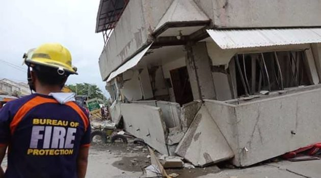 Actualización terremoto, de 6.9 grados, en Mindanao (Filipinas)