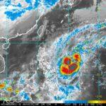 El tifón Kammuri (Tisoy) sorprende por su rápida intensificación