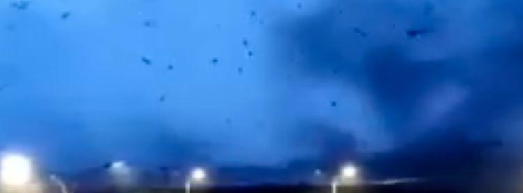 Tornado mortal en la ciudad de Shengze, en la provincia de Jiangsu (China)