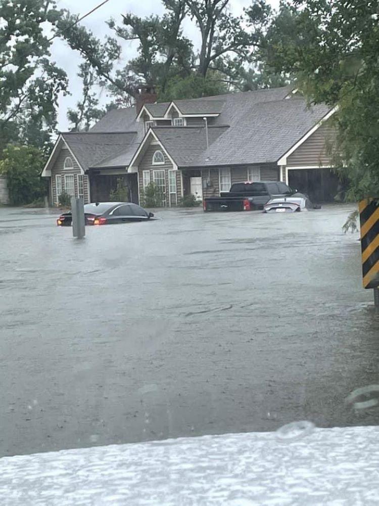 Lluvias históricas, e inundaciones importantes en el sur y centro de Estados Unidos