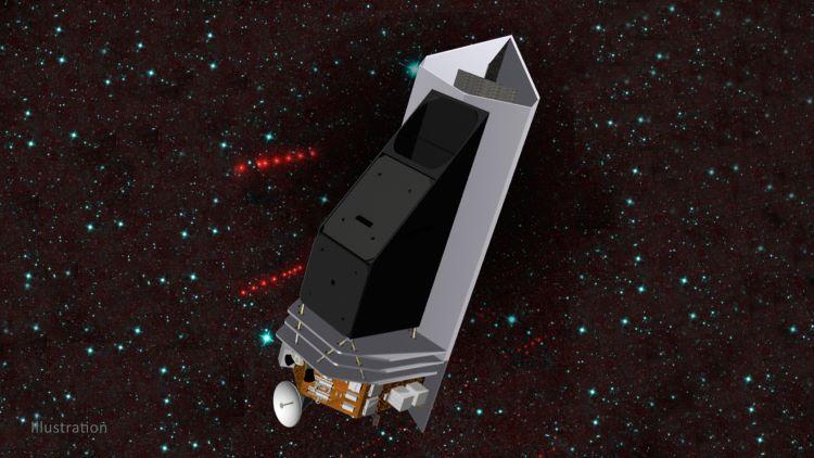 Aprueban telescopio espacial por infrarrojos para vigilar objetos espaciales peligrosos procedentes del Sol