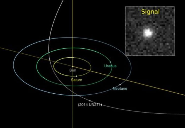 Descubren un cometa tan grande que podría ser un planeta con una órbita especial