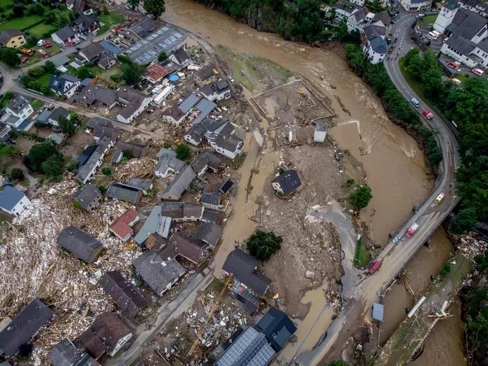Alemania, Países Bajos y Bélgica, gravemente afectados por lluvias torrenciales e inundaciones catastróficas