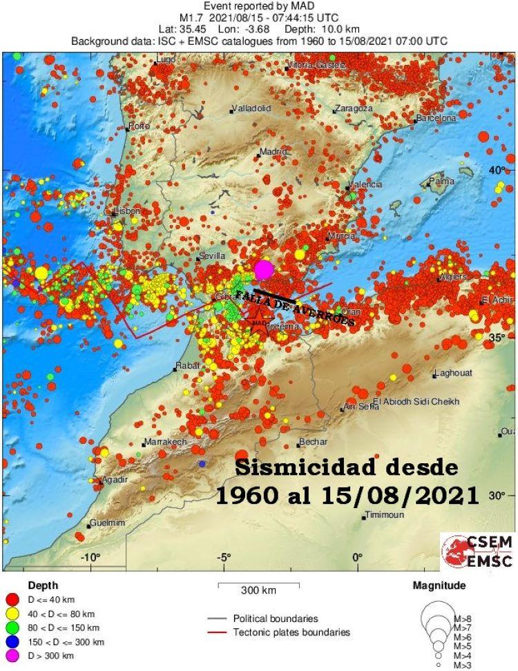 Alertan de la posibilidad de un tsunami en el sur de España