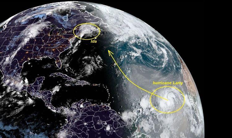 Larry podría convertirse en un huracán de categoría 4, este mismo fin de semana