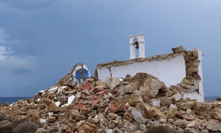 Terremoto de 6,4 grados sacude Creta y activa alerta de tsunami (Grecia)