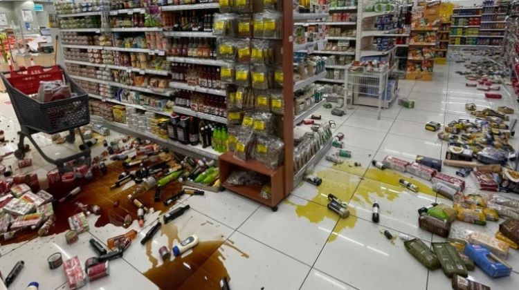 Alerta de tsunami en Creta (Grecia)
